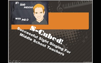 S-Cubed!  Successful Sight Singing and Sight Reading Course for Middle School