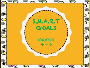 Back to School S.M.A.R.T.Goals