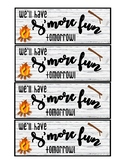 Back to School S'mores Treat Tag