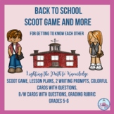 Back to School SCOOT Game and More