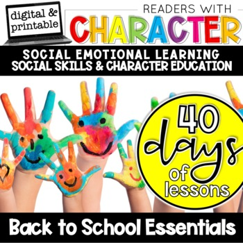 Back to School SEL Character Education Essentials
