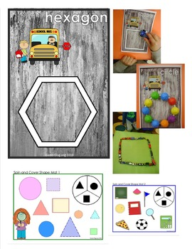 Back to School - SHAPES AND COLORS Activity Pack