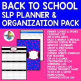 Back to School SLP Planner & Organization Pack