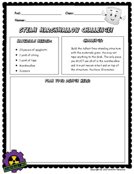 Back to School STEAM Team Building Challenge
