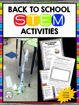 Back to School STEM Activities