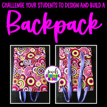 Back to School STEM Activities (Backpack Back to School STEM Challenge)