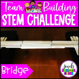 Back to School STEM Activities (Bridge Team Building STEM