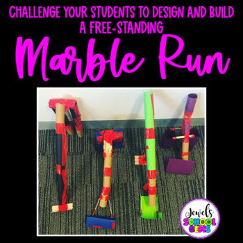 Back to School STEM Activities (Marble Run Team Building STEM Challenge)