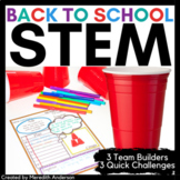 Back to School STEM Activities Team Builders and Icebreakers