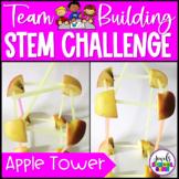 Back to School STEM Activities (Tower Team Building STEM Challenge)