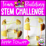 Back to School STEM Activities (Tower Team Building STEM Challenge)