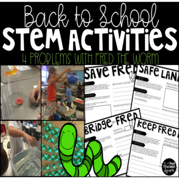 Back to School STEM Activities with Fred the Worm