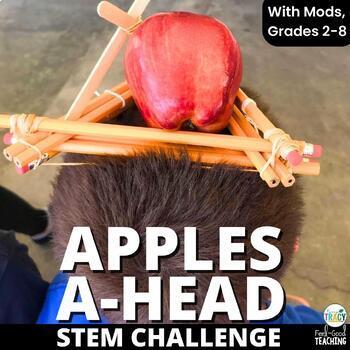Back to School STEM Challenge: Apples A-head
