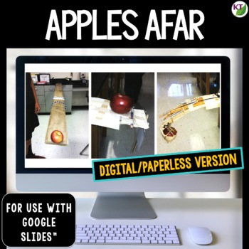 Back-to-School STEM Challenge: Apples Afar 1:1 PAPERLESS