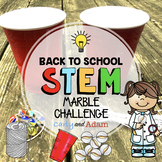Back to School STEM Challenge: Marble Challenge