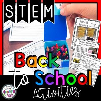 Back to School STEM Activities