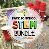 Back to School STEM Challenges BUNDLE: 4 STEM Activities