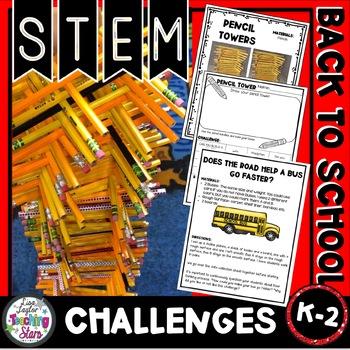 Back to School STEM Challenges K-2