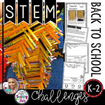 Back to School STEM Challenges K-2
