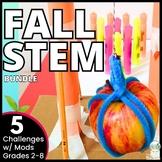 Back to School STEM Challenge Activities Bundle