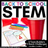 Back to School STEM Team Builders and Activities
