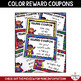 Back to School SUPERHERO THEME Reward Coupons