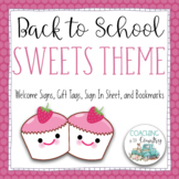 Back to School SWEETS Theme Packet