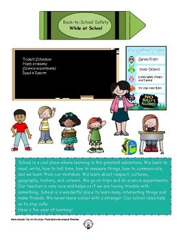 Back-to-School Safety and Healthy Habits