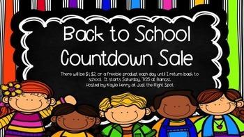 Back to School Sale 2015