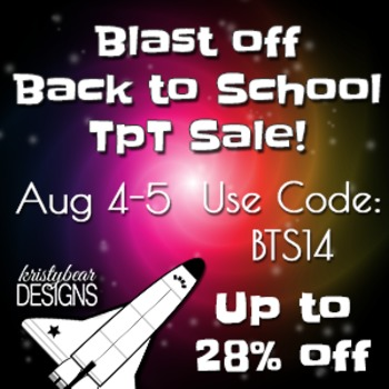 Back to School Sale Banner