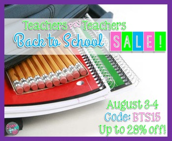 Back to School Sale Image! 2015