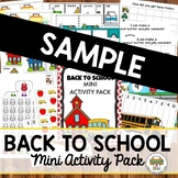 Back to School Sample Pack
