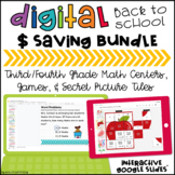 Back to School $ Saving Bundle of FUN for Grades 3 & 4
