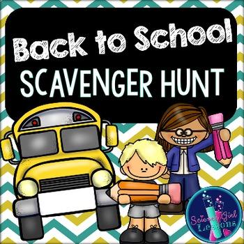 Back to School {Scavenger Hunt}