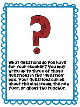 Back to School Scavenger Hunt- Get to Know Your Students grades 4-7