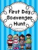 Back to School Scavenger Hunt - Icebreaker