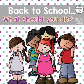 Back to School Scenario Boom Cards