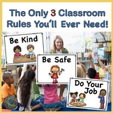Back to School - School Rules: Be Kind, Be Safe, and Do Your Job!