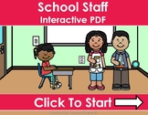 Back to School- School Staff Distance Learning Interactive PDFs