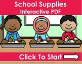 Back to School- School Supplies Distance Learning Interact