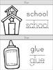 Back to School: School Supply Pencil Book Craftivity