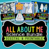 Back to School Science All About Me - Bundle | Distance Learning