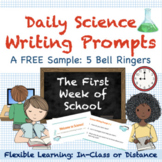 Back to School Science Bell Ringers | Distance Learning