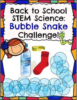 Back to School Science: Bubble Snake Challenge!