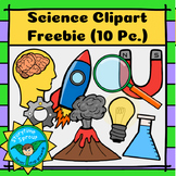 Back-to-School Science Clipart Freebie (10 Pc.)