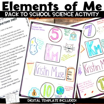 Back to School Science Getting to Know You Activity