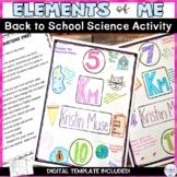 Periodic Table of Elements Getting to Know You Activity