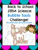 Back to School Science STEM Pack!