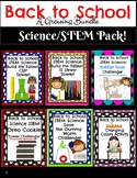 Back to School Science STEM Pack! Growing Bundle!