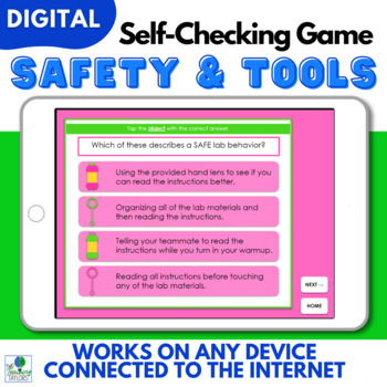 Science Safety Tools Virtual Lab